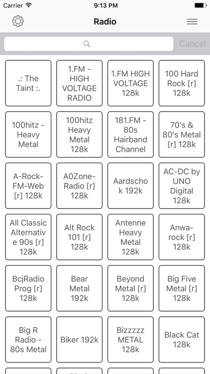 Radio FM Metal online Stations