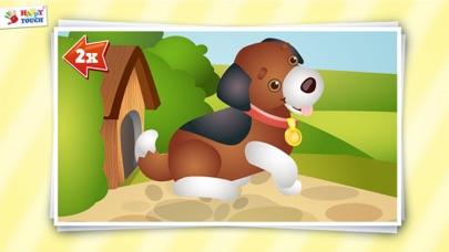 Animiertes Tier Puzzle für Kinder von HAPPYTOUCH®Screenshot von 4
