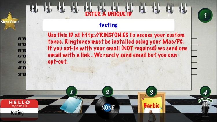 TALKING RINGTONES screenshot-3