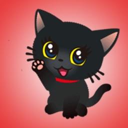 Best Black Cat Stickers