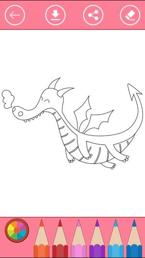 Fantasy Malbuch für Kinder und ausmalen lernen im App Store