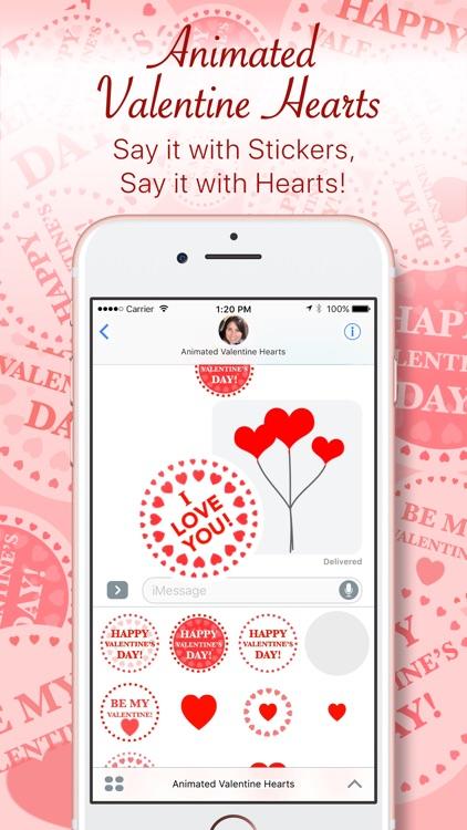 Animated Valentine Hearts