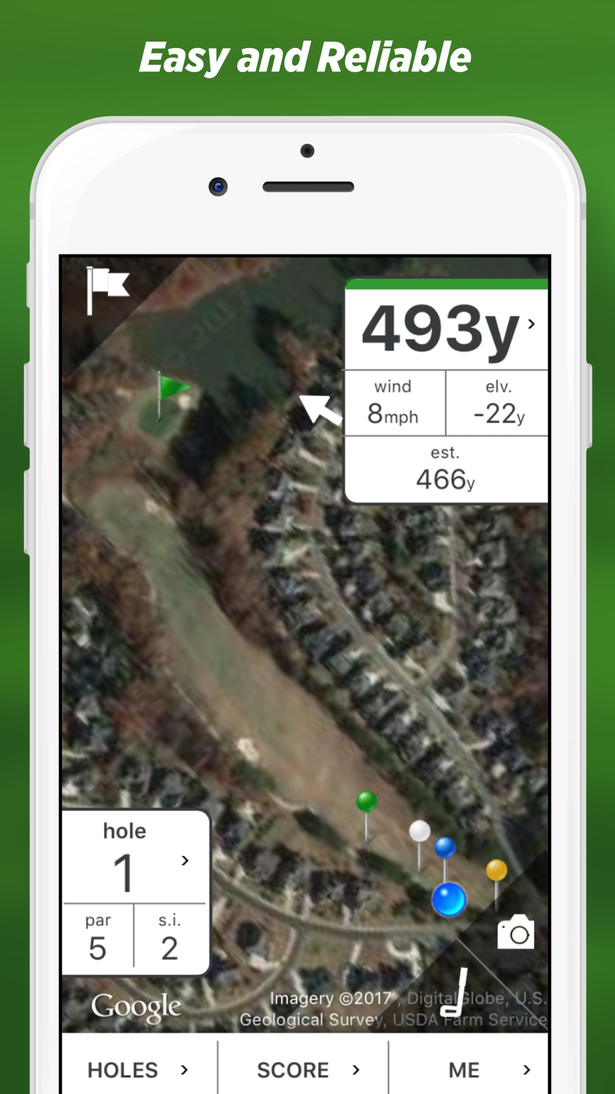 Golf GPS by SwingxSwing Screenshot