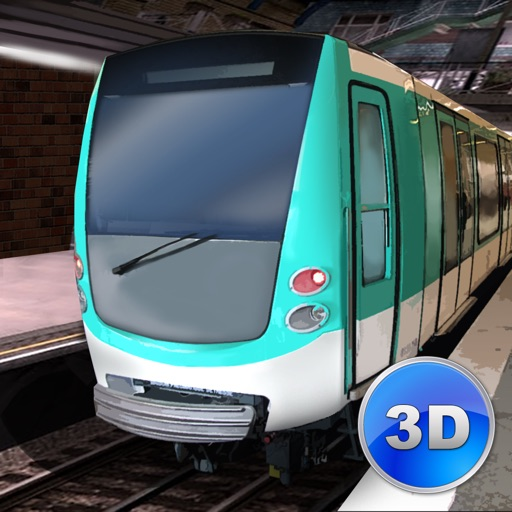 paris subway simulator 3d by game maveriks. Black Bedroom Furniture Sets. Home Design Ideas