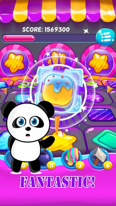 Candy Fever Mania : The Kingdom of Match 3 Games screenshot two