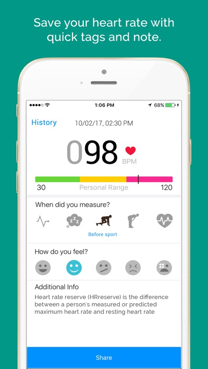 Instant Heart Rate Monitor HRM screenshot-3