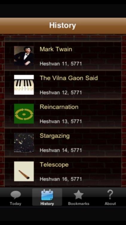 Amazing Jewish-Fact-a-Day Calendar screenshot-3