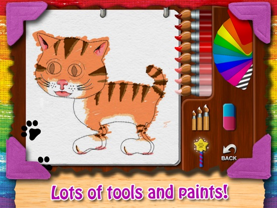Paint My Cat - Color and Play Скриншоты7