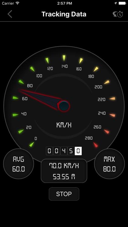 Digital Speedometer PRO - GPS Speed Tracker screenshot-3