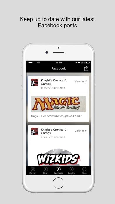 Knight's Comics & Games screenshot two