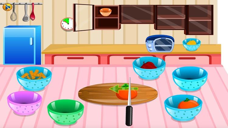 Cooking sara pasta free Cooking games for girls screenshot-3
