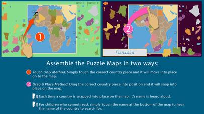Africa - Montessori Geography screenshot 4