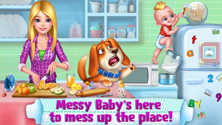 OMG! Messy Baby