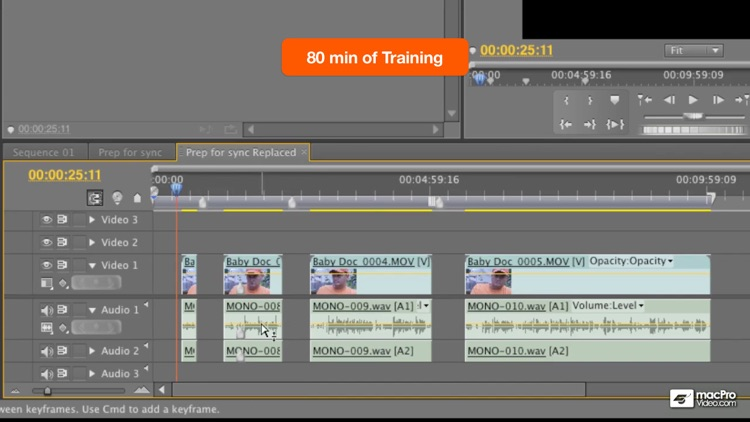 Course For Premiere Pro 5 - DSLR Workflows screenshot-4