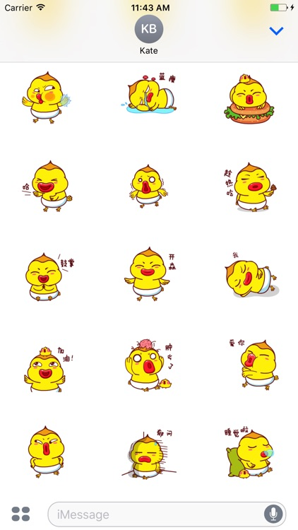 Animated Rogue Chicken Stickers For iMessage screenshot-0