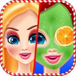 Christmas Doll Makeover Salon & DressUp Girls Game