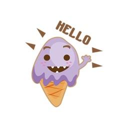 Ice Cream Delight stickers by CatMania