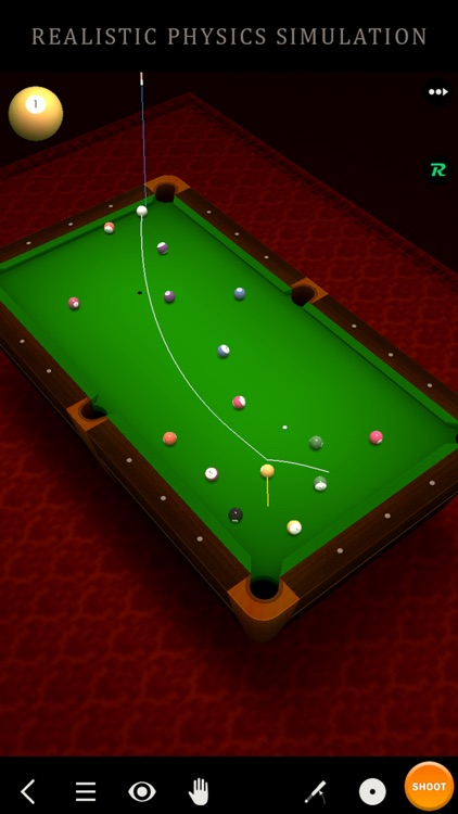 Pool Break Lite 3D Billiards 8 Ball Snooker Carrom screenshot-1