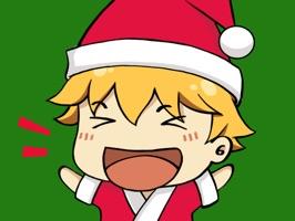 Hiroki Xmas stickers