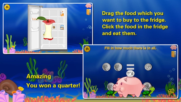 Amazing Coin(USD):Money learning  counting games screenshot-4