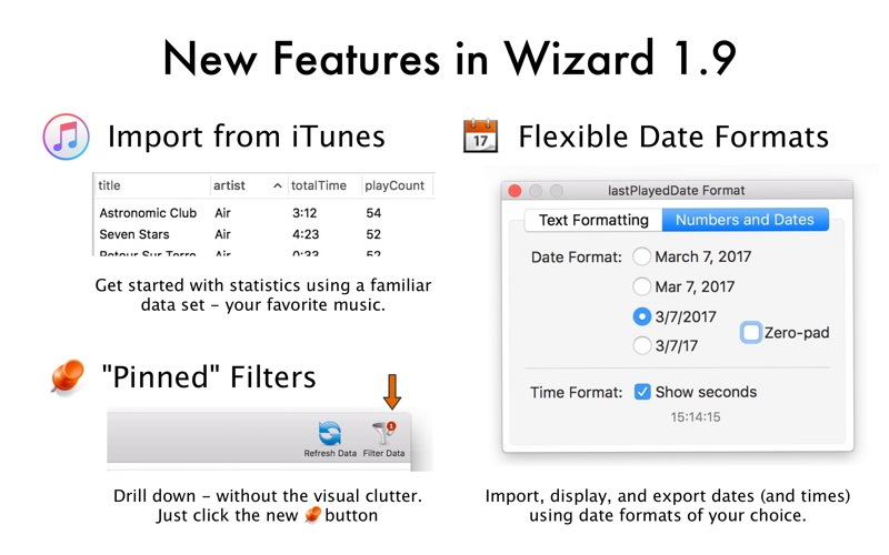 Screenshot #5 for Wizard - Statistics & Analysis