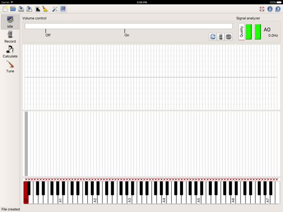 Entropy Piano Tuner screenshot