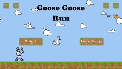 Goose Goose Run screenshot one