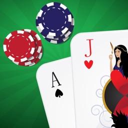 Blackjack trainer casino card game