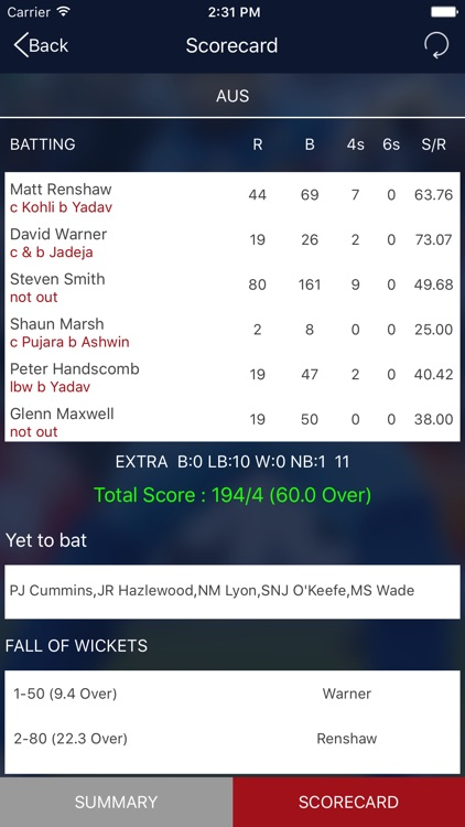 Cricket Live Score and Schedule screenshot-4