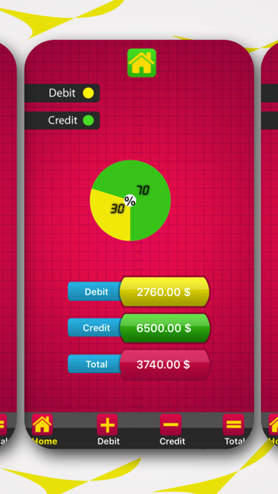 Debit Credit - Account Manager-0