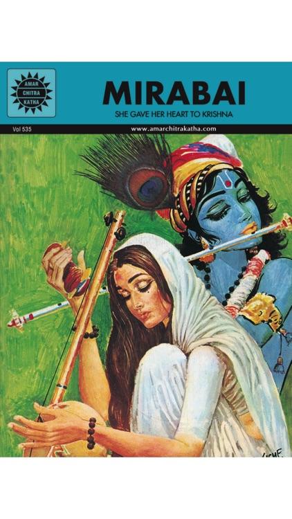 Krishna And Mirabai Digest - Amar Chitra Katha screenshot-3