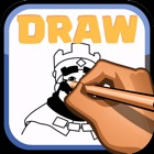 Drawing Guide about Clash Royale icon