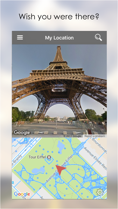 My Location - with Google Street View Screenshot