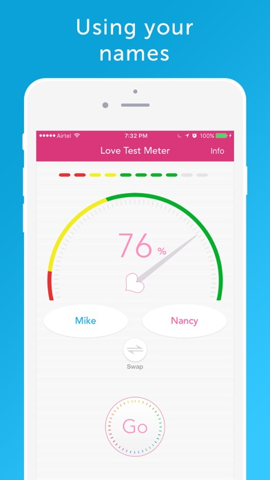 Screenshot #2 pour Love Test Meter - Relationship Compatibility