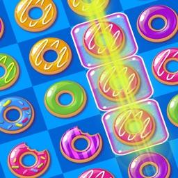 Donut Blast Legend Delicious Gummy Match 3 Game