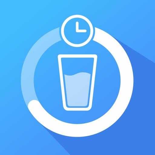 Водный баланс: трекер воды похудение вода application logo
