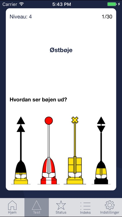 Screenshot for Navigame Bøjer in Denmark App Store