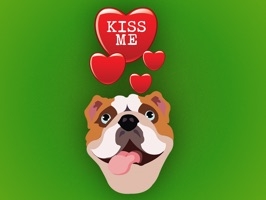Valentine Dogs is a collection of over 150 dog stickers with lots of cute messages to send to your loved ones