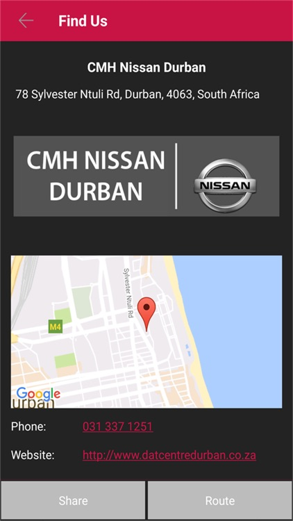CMH Nissan Durban screenshot-3