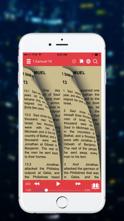 NASB Bible (Audio) screenshot-3