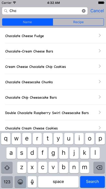 Homemade Cheese Recipes screenshot-3