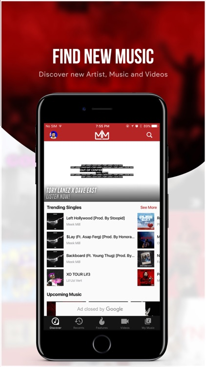 My Mixtapez Music app image