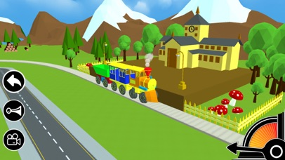 3D Toy Train - Free Kids Train Game by Touchzing Media (iOS