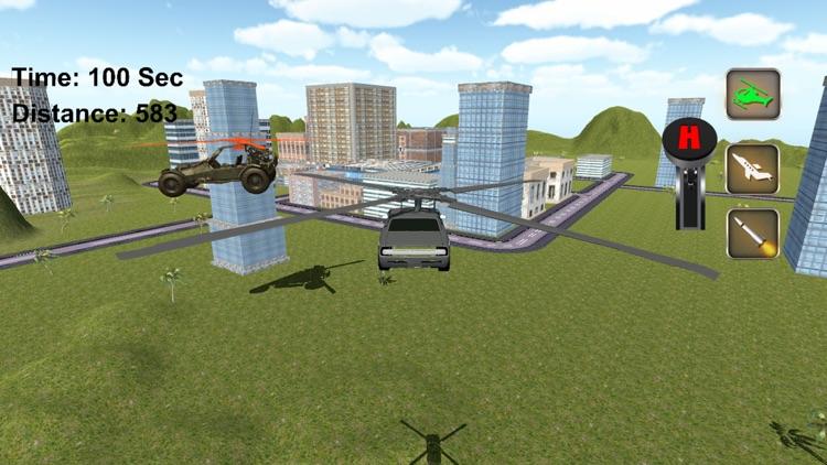 Super Flying Car Racing Games screenshot-3