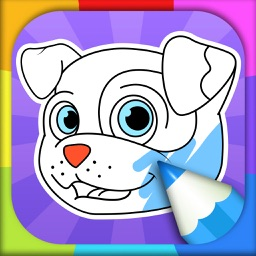 Dog Coloring Pages - Coloring Games for Kids