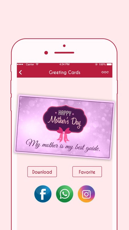 Happy Mother's Day Greeting Cards