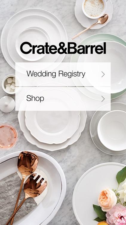 Crate & Barrel: Wedding Registry, Furniture, Decor