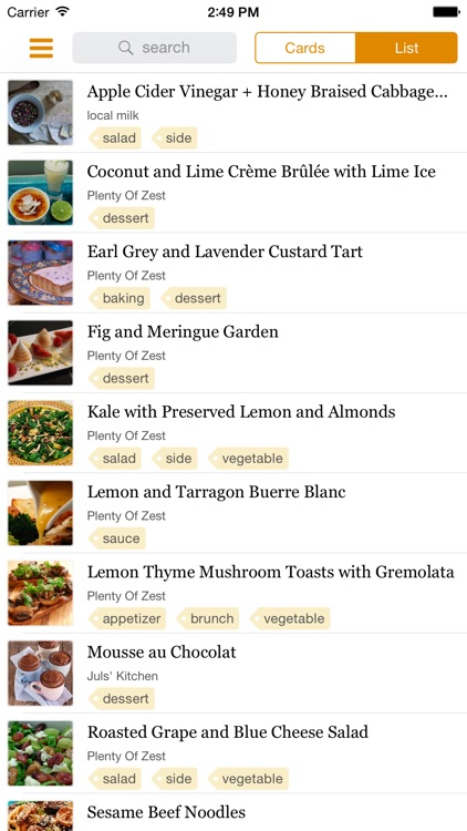Zest Recipe Manager screenshot-3