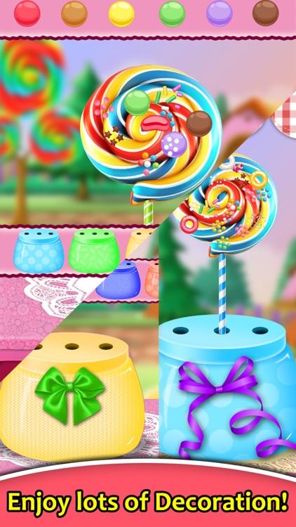 Colorful Candies Shop - Make Rainbow Sweets screenshot-3