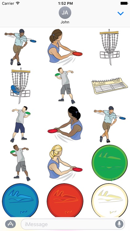 Disc Golf & Frisbee Stickers